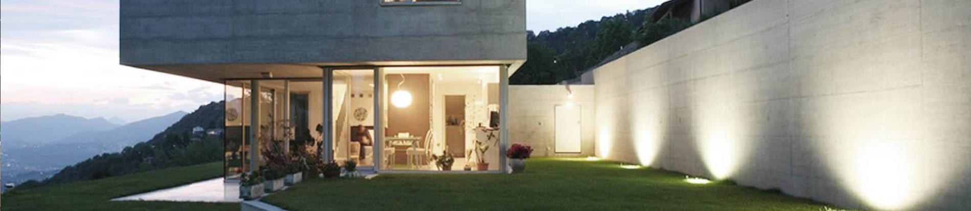 Illuminazione giardini - luci da giardino - Verdeblu Giardini - Pavia