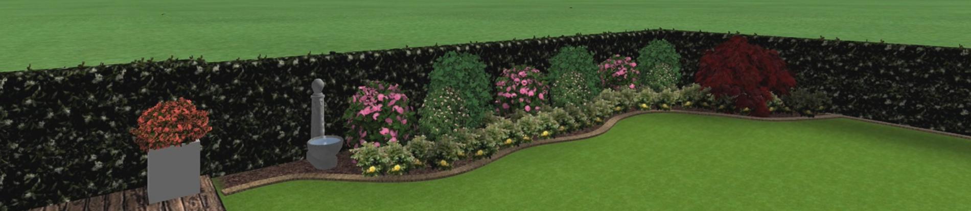 Rendering giardino privato verdeblu giardini for Rendering giardino
